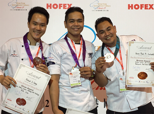 Recognition of Chef Students and Faculty