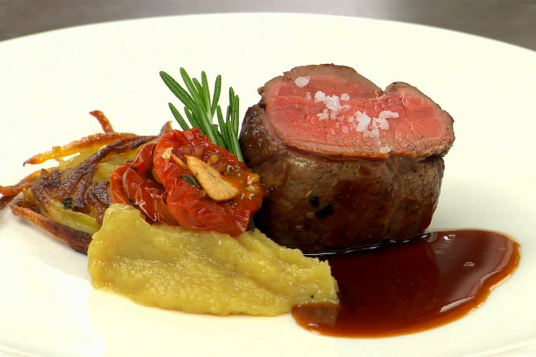Roasted Lamb Loin