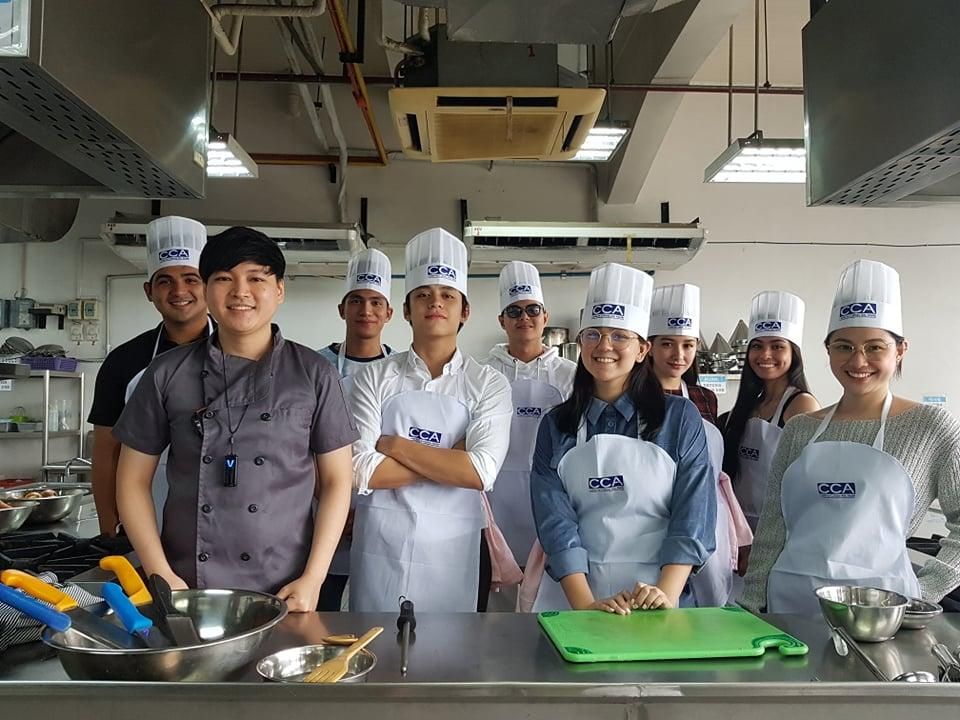 'The Lost Recipe' stars Mikee Quintos, Kelvin Miranda, Paul Salas, Thea Tolentino train with a real chef